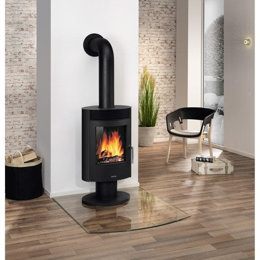 poele a bois justus leroy merlin. Black Bedroom Furniture Sets. Home Design Ideas