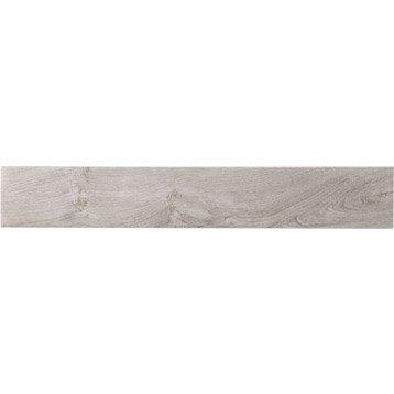 Lot de 2 plinthes Helsinki gris perlé, l.10 x L.60.4 cm