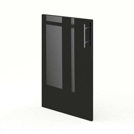 porte de meuble de cuisine f45 delinia rio x cm leroy merlin. Black Bedroom Furniture Sets. Home Design Ideas