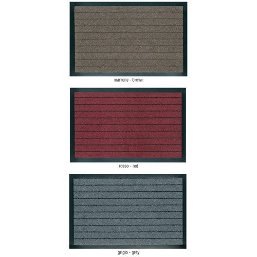 tapis antipoussi re alaska multi couleur 90 x 60 cm leroy merlin. Black Bedroom Furniture Sets. Home Design Ideas