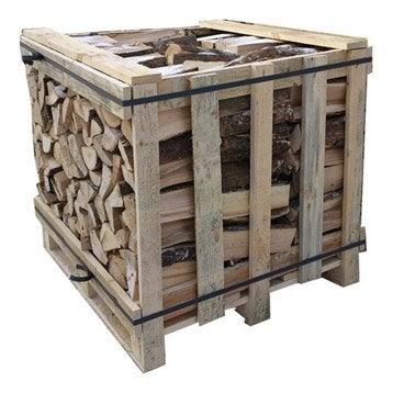 Bois de chauffage granul s pellets et b ches calorifique leroy merlin - Granules bois castorama ...