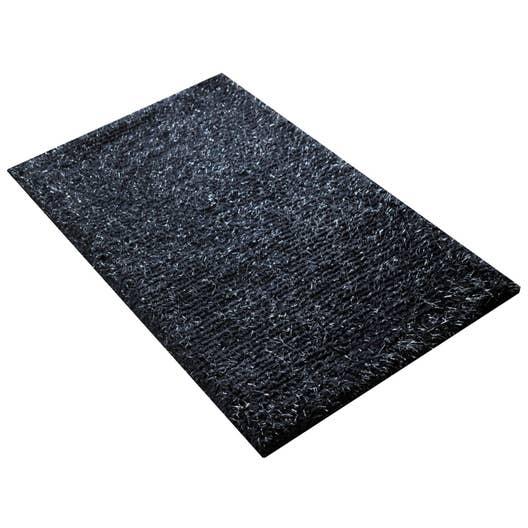 Tapis Salle De Bain Super Absorbant ~ tapis de bain l 50 x l 80 cm paris n 1 jet set sensea leroy merlin
