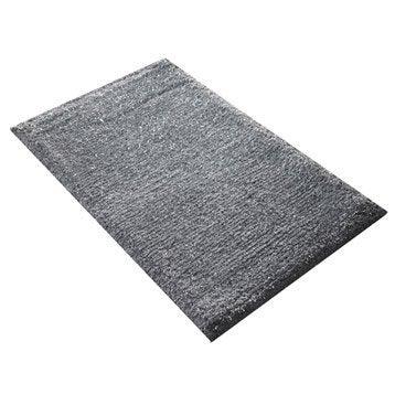 Tapis de bain l.50 x L.80 cm granit n°3, Jet set SENSEA