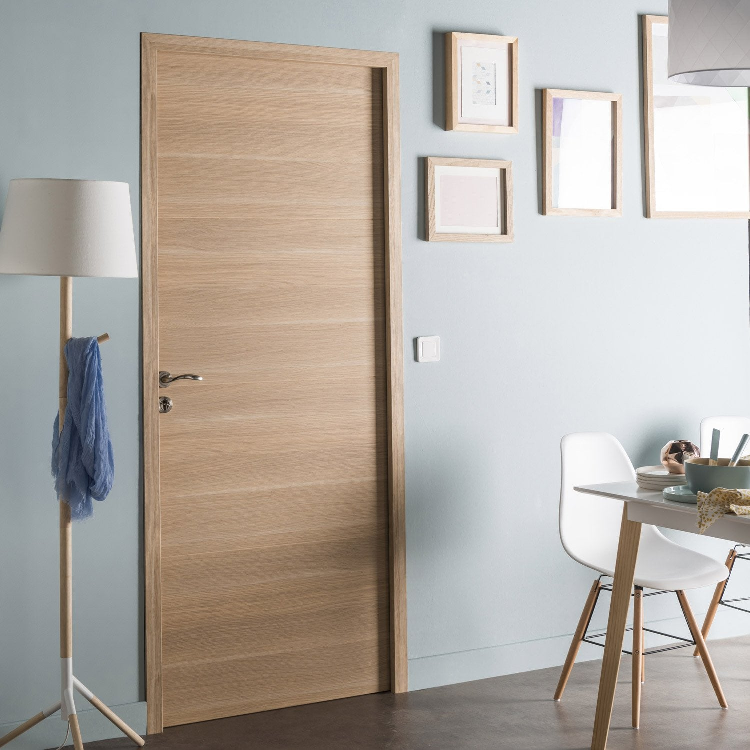 Bloc porte rev tu madrid 2 artens x cm for Dimension porte interieur