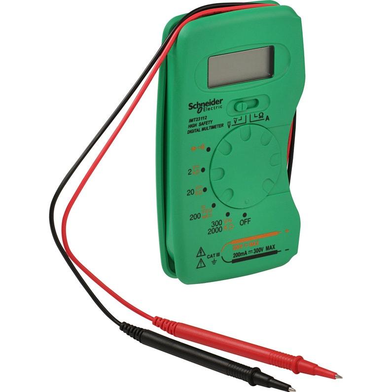 Multimètre Numérique De Poche 1260300 V Schneider Electric