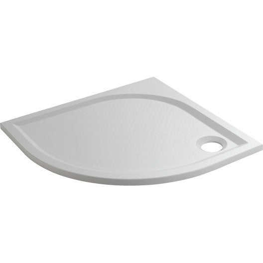 Receveur de douche klara extra plat r sine 1 4 de cercle - Receveur douche extra plat leroy merlin ...