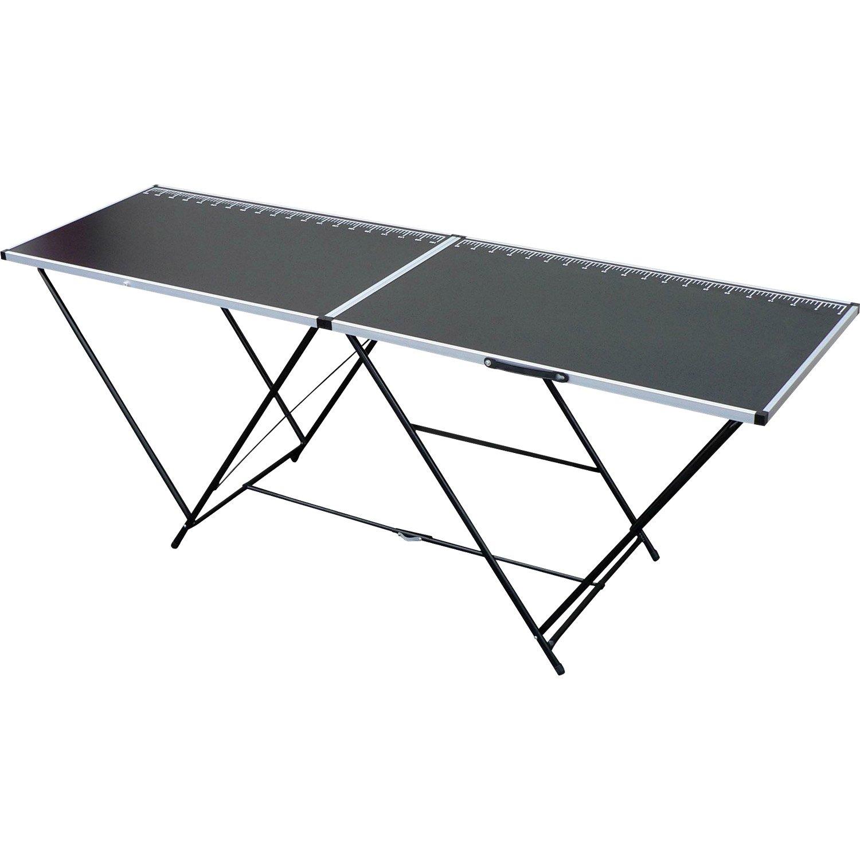 table tapisser pliante ocai cm x h 2 m leroy merlin. Black Bedroom Furniture Sets. Home Design Ideas