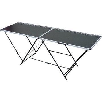 Table à tapisser pliante OCAI, l.60 cm x H.2 m