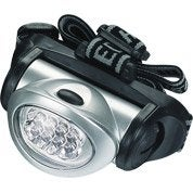 Lampe frontale à ampoule LED LEXMAN, portée 10m