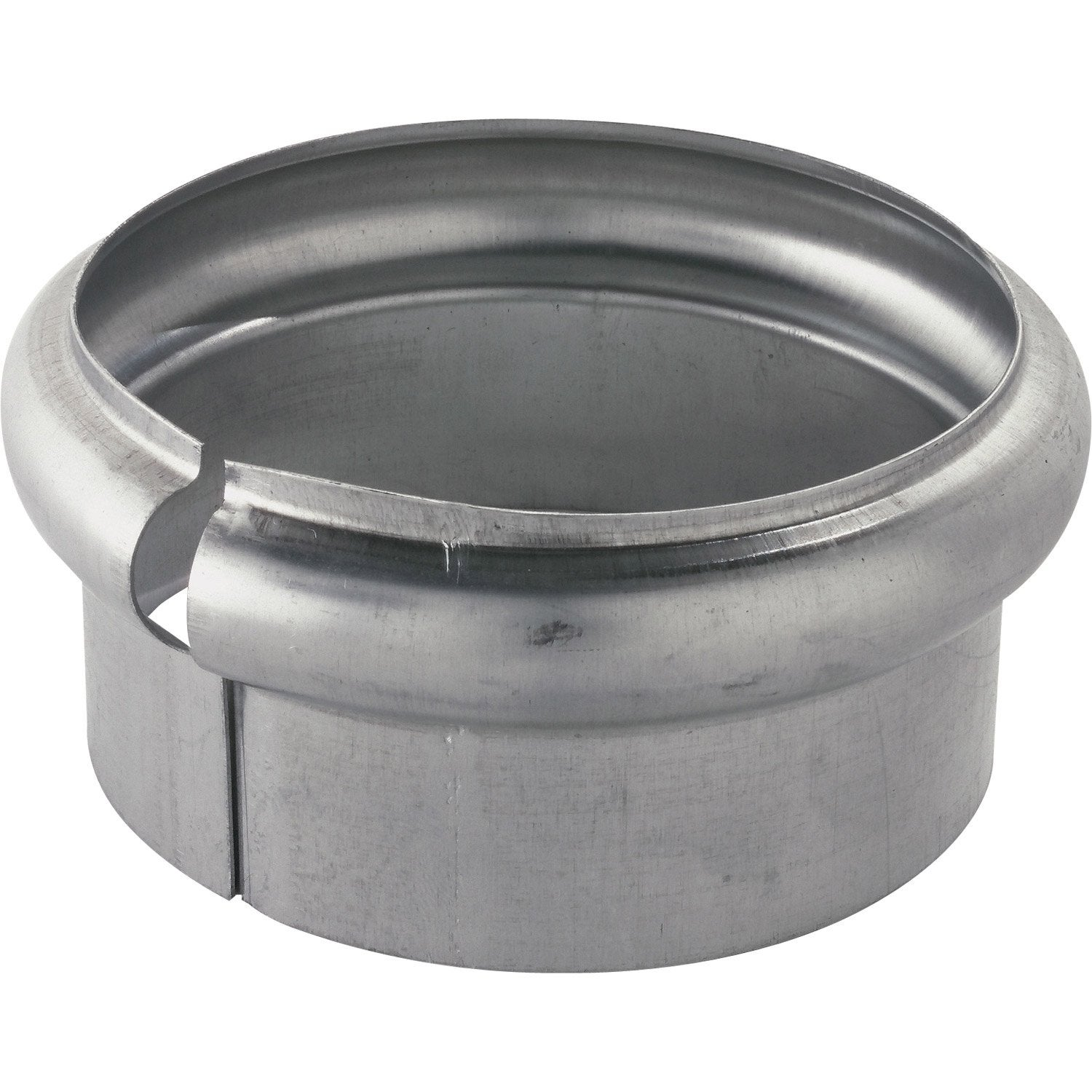 bague simple extensible zinc gris scover plus diam.100 mm | leroy merlin