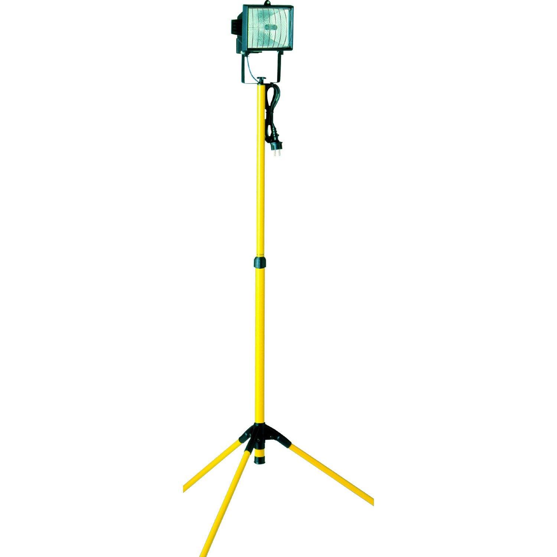 Projecteur Portable Exterieur R7s 118 Mm 400 W Noir Leroy Merlin