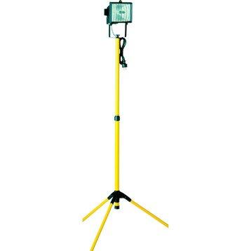 Projecteur portable extérieur R7S, 118 mm 400 W, noir