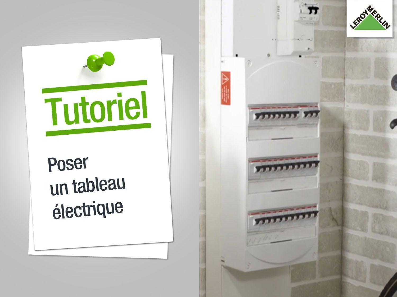 Tableau lectrique electricit domotique leroy merlin - Tableau electrique sans fusible ...
