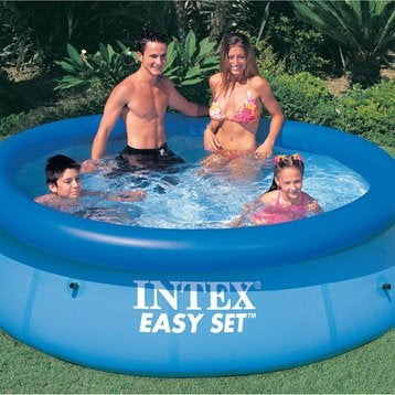Piscine piscine et spa leroy merlin for Piscine intex hors sol ronde