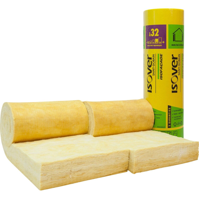 2 rouleaux de laine de verre lambda. Black Bedroom Furniture Sets. Home Design Ideas