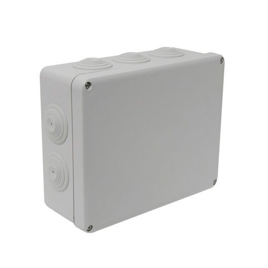 Boîte de dérivation étanche en saillie DEBFLEX 10 entrées