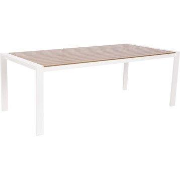 table de jardin salon de jardin table et chaise leroy merlin. Black Bedroom Furniture Sets. Home Design Ideas