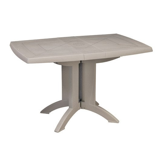table de jardin grosfillex v ga rectangulaire lin 4. Black Bedroom Furniture Sets. Home Design Ideas
