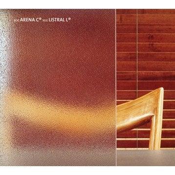 Verre décoratif Arena granité transparent L.160.5 x l.100 cm 4 mm