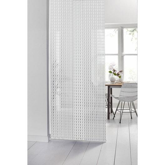 panneau japonais 3d blanc x cm leroy merlin. Black Bedroom Furniture Sets. Home Design Ideas