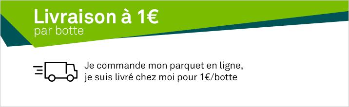 parquet livraison 1€