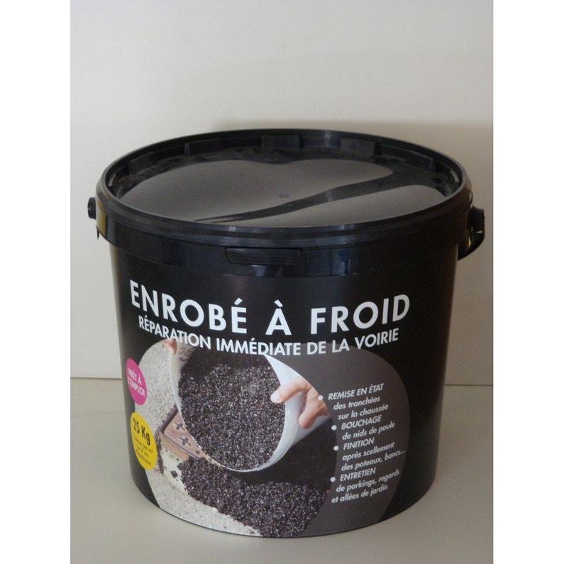 Réparation De Bitume Pradier 25 Kg Noir