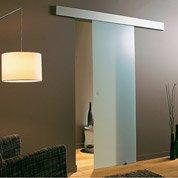 Rail coulissant et habillage Twistal 2, pour porte de largeur 83 cm maximum
