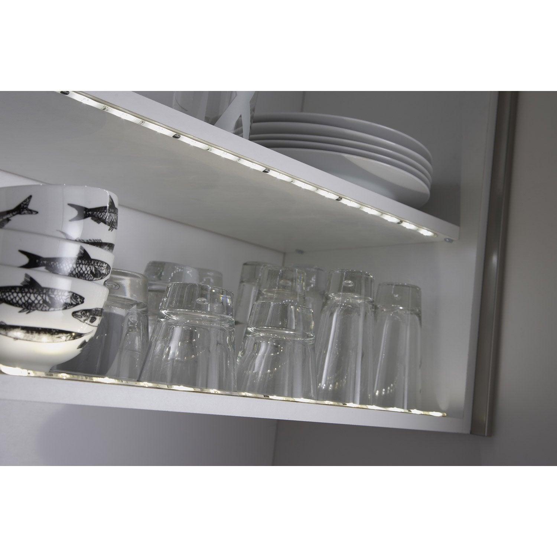Ruban Led Pour Eclairage Principal kit ruban led à piles 0.5m blanc chaud 3000k 85 lumens flexled inspire