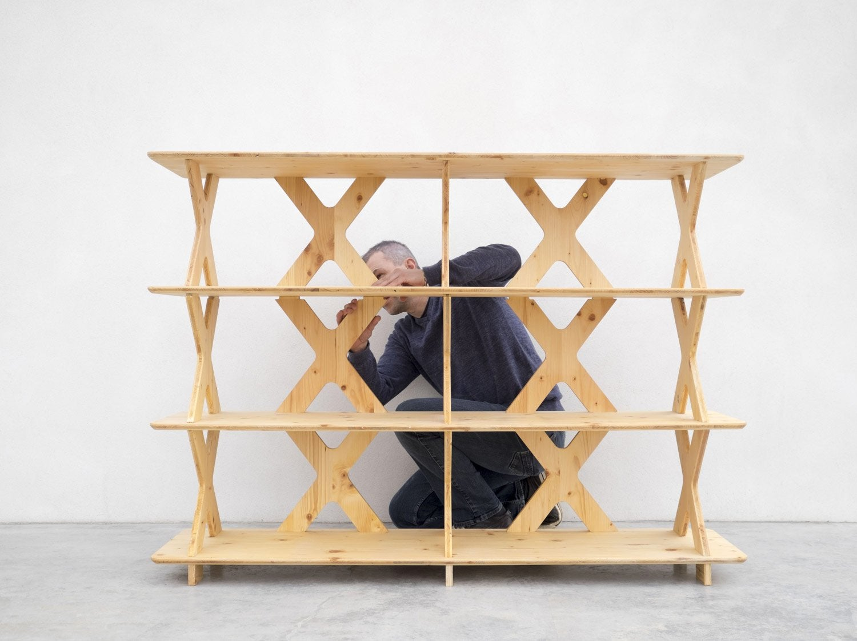 Les meubles modulables de Pierre Furnemont