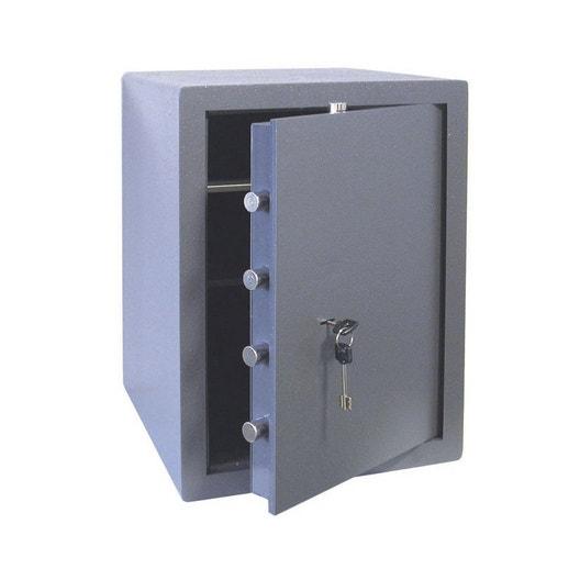 coffre fort cl bricard 85085 x x cm leroy merlin. Black Bedroom Furniture Sets. Home Design Ideas