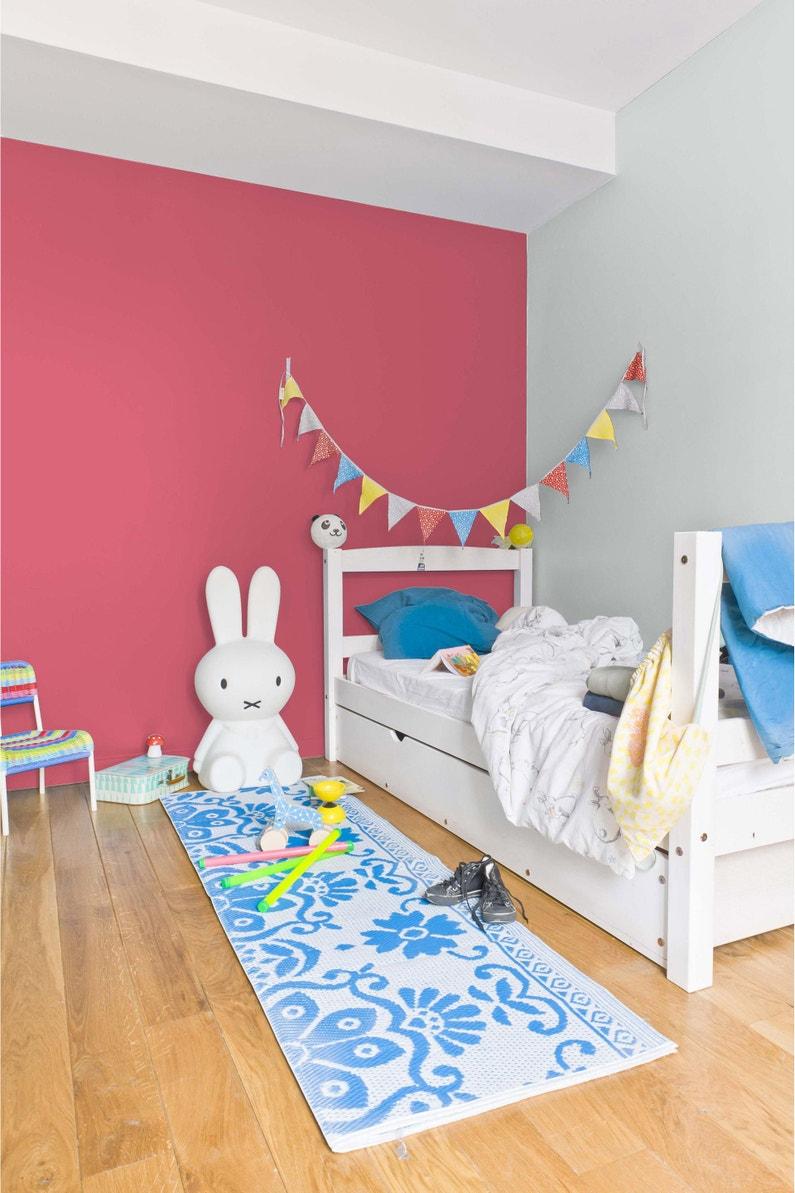Peinture rose fushia satin RIPOLIN Chambre enfants 0.5 l