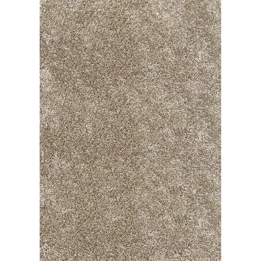 tapis shaggy royal gris 170x120 cm leroy merlin. Black Bedroom Furniture Sets. Home Design Ideas
