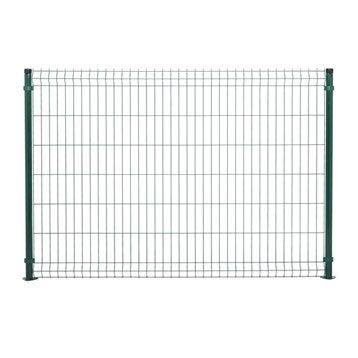 Panneau grillagé vert H.1.4 x L.2 m, maille H.200 x l.50 mm