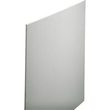Plaque Cleaneo 4 bords amincis CE 2.5 x 1.2 m, BA13, entraxe 60 cm