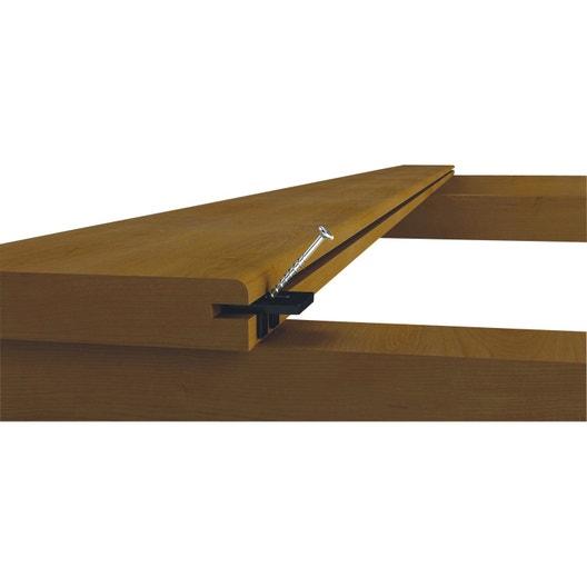 kit de fixation pour lames de terrasse en bois tendre softwood
