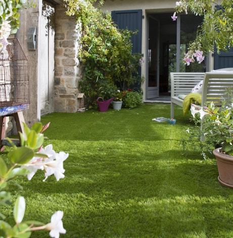 Votre terrasse tout en vert