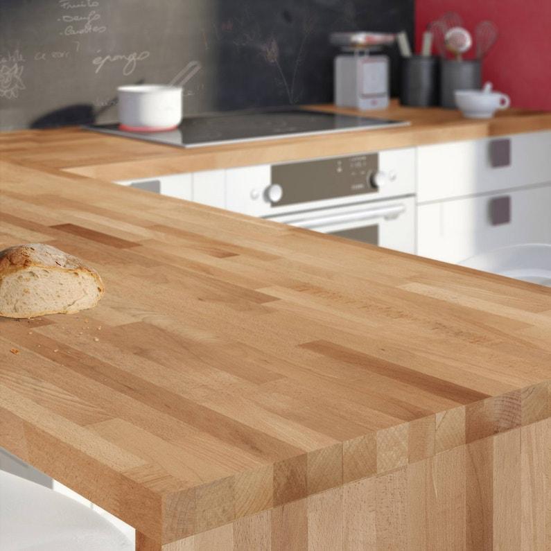 du bois h tre pour votre plan de travail de cuisine. Black Bedroom Furniture Sets. Home Design Ideas