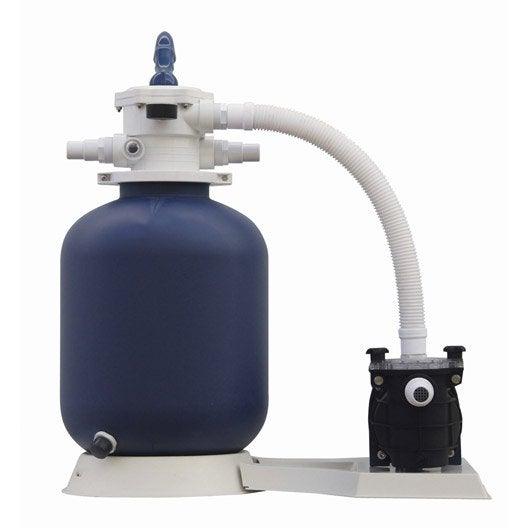 kit de filtration sable aqualux 103458 5 m h leroy merlin. Black Bedroom Furniture Sets. Home Design Ideas