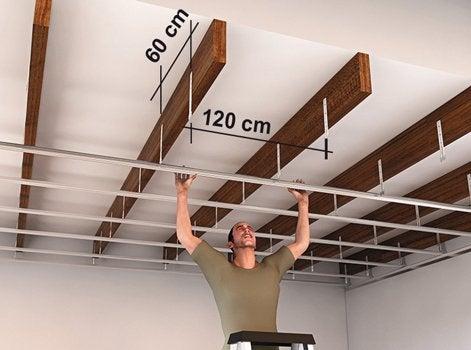L univers des plafonds leroy merlin - Faux plafond tige filetee ...