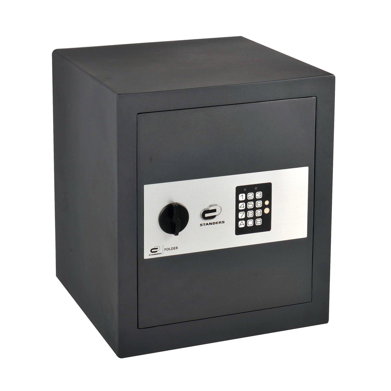 coffre fort code standers easy large x x cm leroy merlin. Black Bedroom Furniture Sets. Home Design Ideas