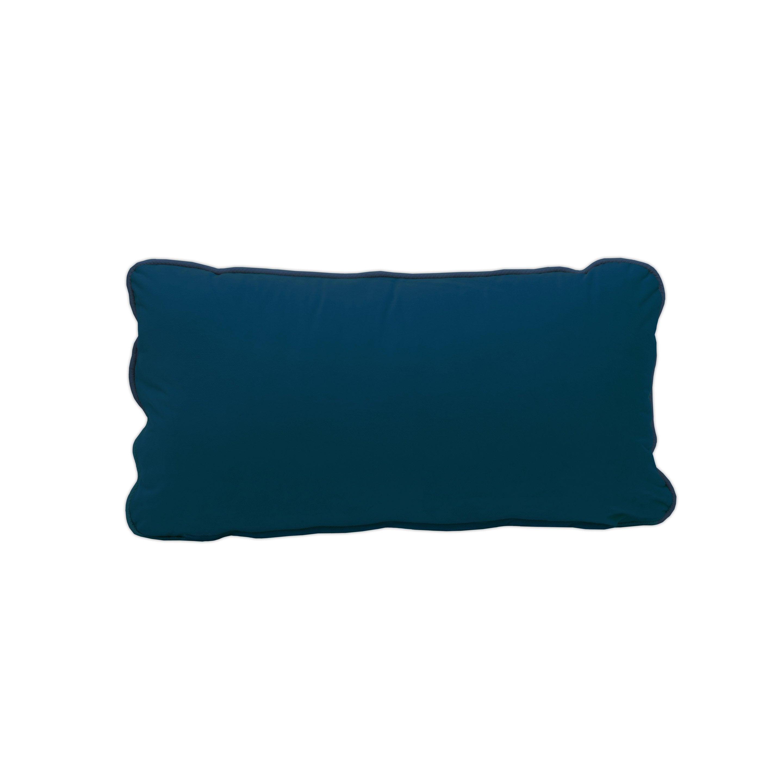 Housse de coussin Velvet, bleu H.30 x l.50 cm