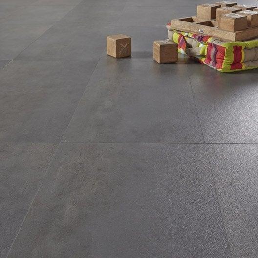 Dalle pvc clic gerflor senso lock garage dark 60 9 x 30 5 cm - Dalle de sol pvc auto adhesive ...