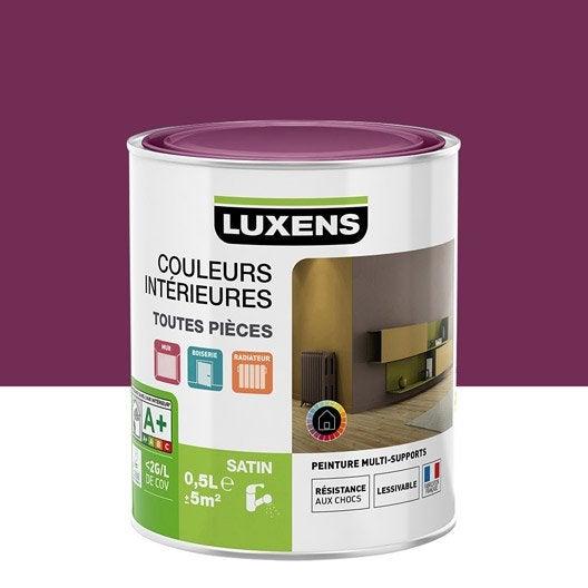 Peinture murale couleur peinture acrylique leroy merlin for Peinture couleur figue