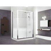 Kit de remplacement baignoire par douche entre 2 murs 140 x ...