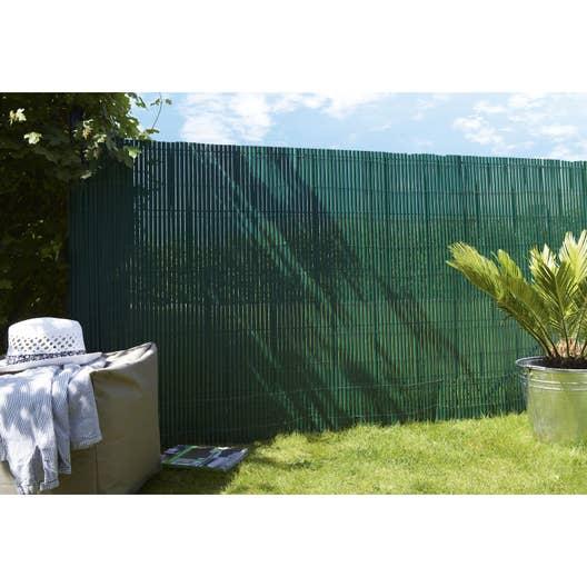 Canisse pvc vert, H.150 cm x L.300 cm | Leroy Merlin