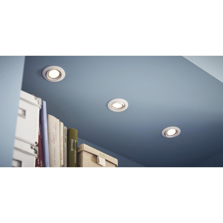 kit 3 spots encastrer clane36 orientable led inspire. Black Bedroom Furniture Sets. Home Design Ideas