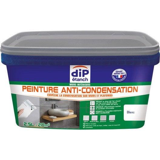 Peinture anticondensation peinture anti condensation dip for Peinture anti bruit efficacite