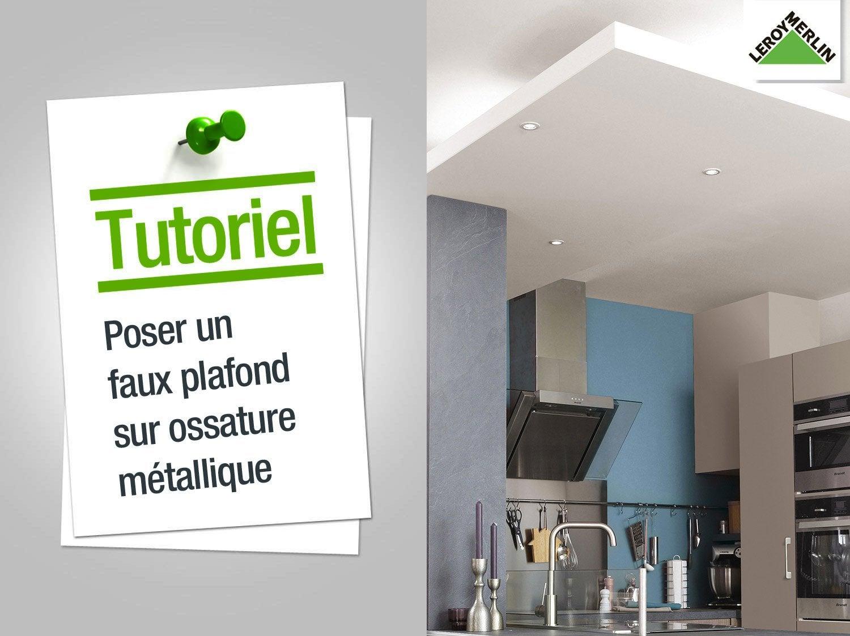 good comment poser un faux plafond sur ossature bois with. Black Bedroom Furniture Sets. Home Design Ideas