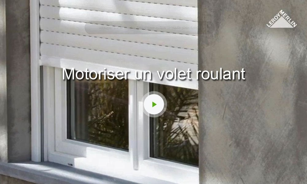 Motorisation De Volets Roulants Sans Fil Evology 20 N M