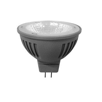 Ampoule réflecteur LED 6W = 450Lm (équiv 35W) GU5.3 4000K 100° LEXMAN